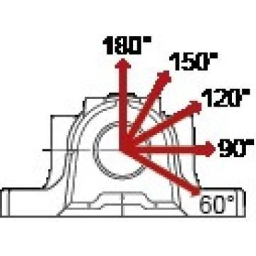 H1 SKF SSAFS 23038 KA x 7 SAF and SAW series (inch dimensions)